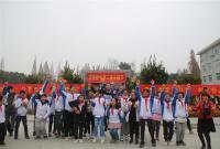 江汉油田实验初中开展第二届校园采摘节活动